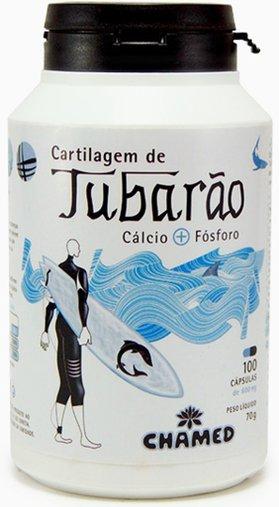 Cartilagem de Tubarão 100 caps 700 mg - Chamed