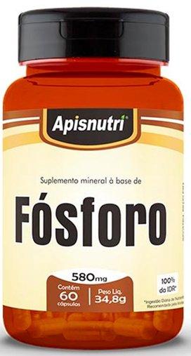 Fósforo 580 mg 60 cápsulas Apisnutri