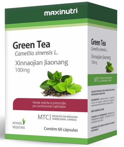 Green Tea - Chá Verde  MTC 100mg 60 cápsula Maxinutri