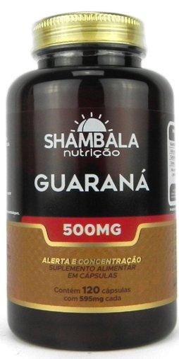 Guaraná 120 cps 500mg Shambala