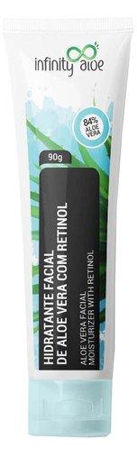 Hidratante Facial Aloe Vera com Retinol 90g Infinity Aloe