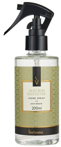 Home Spray Alecrim Silvestre 200ml ViaAroma