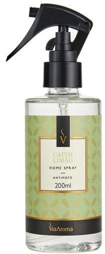 Home Spray Capim Limão 200ml ViaAroma