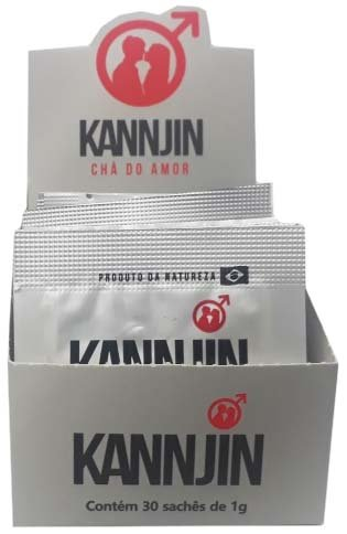 Kit Kannjin Displays com 30 sachês