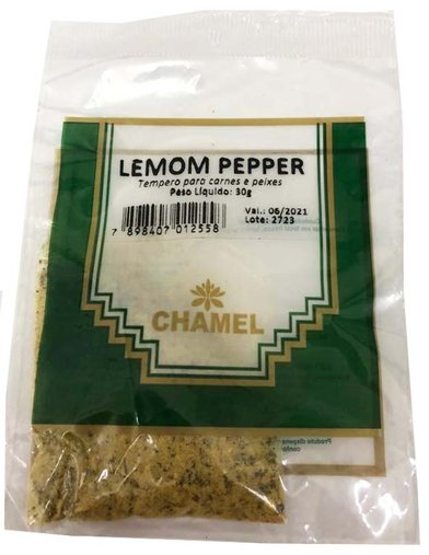 Lemon Peper 30g Chamel