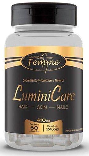 LuminiCare Hair Skin Nails 410mg 60 cpásulas Apsinutri