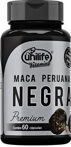 Maca Peruana NEGRA PREMIUM 60 cápsulas 450mg Unilife