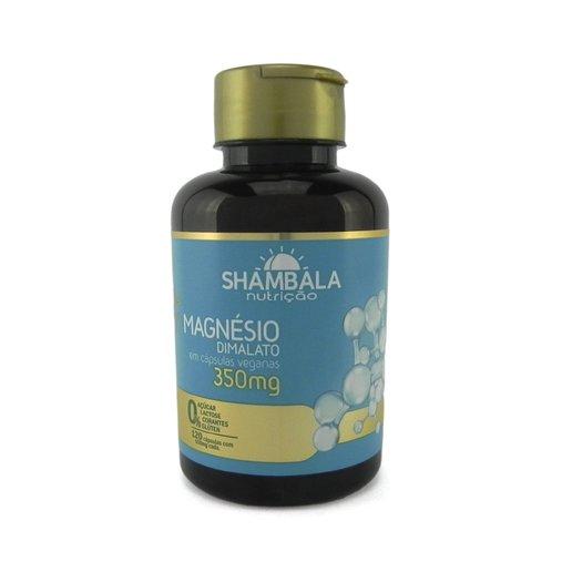 Magnesio Dimalato 350mg 120 cápsulas Shambala