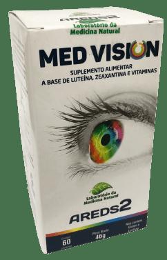 Med Vision Suplemento Alimentar a Base de Luteína, Zeaxantina e Vitaminas 60 cápsulas Medinal