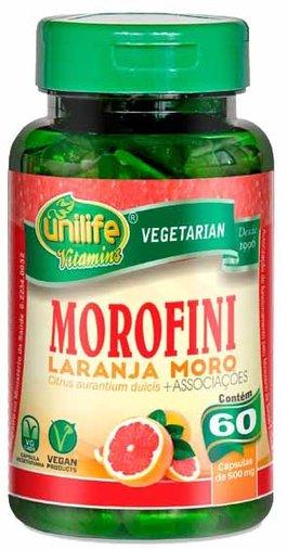 Morofini Laranja Moro + Associações 60 cápsulas de 500mg Unilife