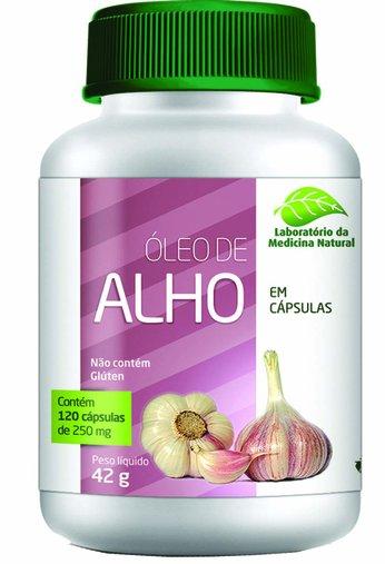 Óleo de Alho 250mg 120 cápsulas Medinal - 7898693590259
