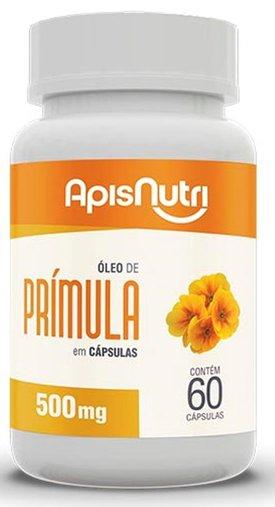 Óleo de Prímula 500mg 60 cápsulas Apisnutri