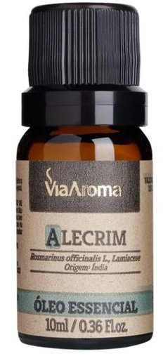 Oleo Essencial Alecrim 10ml ViaAroma