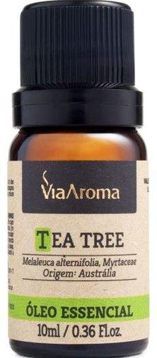 Óleo Essencial Melaleuca (Tea Tree) 10ml ViaAroma