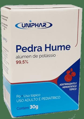 Pedra Hume alúmen de potássio 99,5% 30g Uniphar