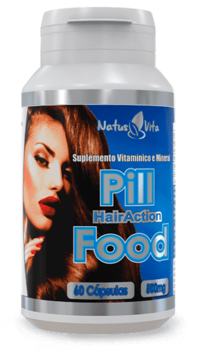 Pill Hair Action 60 cps 500mg (Pill Food) Natus Vita
