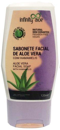 Sabonete Facial de Aloe Vera 120ml Infinity Aloe
