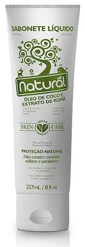Sabonete Líquido Natural Óleo de Coco e Extrato de Romã 237ml Suavetex