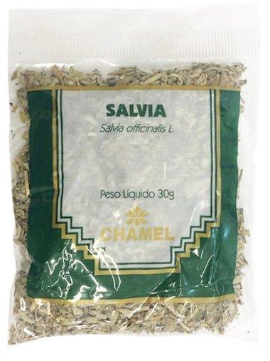 Sálvia Chá 30 gramas - Chamel