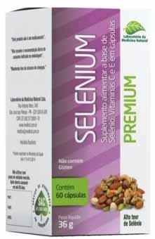 Selenium 50 caps 500 mg (Selênio) - Medinal