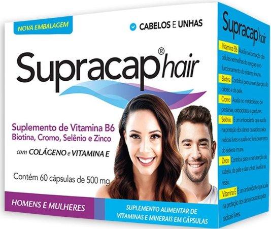 Supracap Hair Suplemento Vitamínico 60 cápsulas