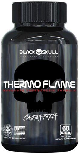 Termogênico Thermo Flame 60 tabletes BlackSkull
