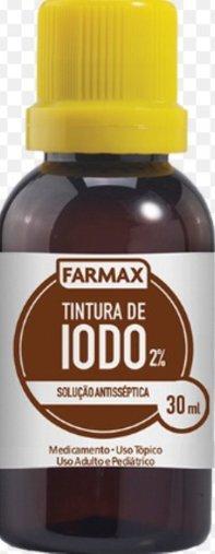 Tintura de Iodo 2% 30 ml Farmax