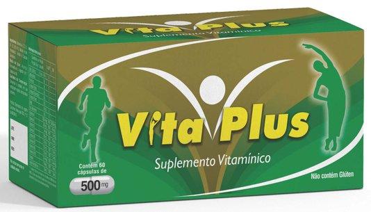 Vita Plus Suplemento Vitamínico 500 mg 60 cápsulas Medinal