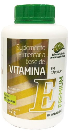 Vitamina E 500mg 60 cápsulas - Medinal
